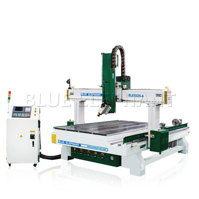 ELECNC-1325 4 Axis CNC Router Woodworking Machine