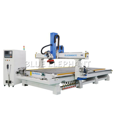 4 Axis CNC Router 2040 Machinery Woodworking with Rotary Device