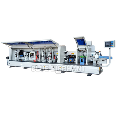 Fully automatic edge banding machine with pre-milling