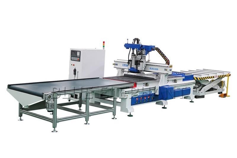 ELECNC-1325 CNC Router Automatic Loading and Unloading
