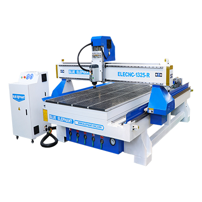 1325 Rotary device cnc wood router machine for woodworking