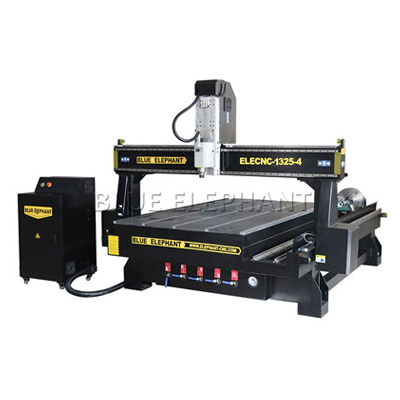 1325 4th Axis CNC Router with Rotary Device for Woodworking industry