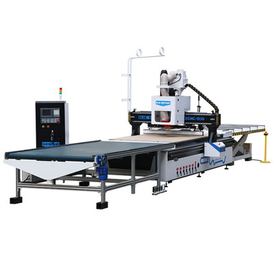 Automatic Loading and Unloading Linear ATC CNC Furniture Production Line